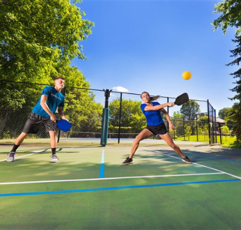 Guest Pickle Ball at the Ridge Outdoor Resort