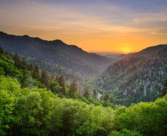 Great Smoky Mountains Hiking The Ridge Outdoor Resort