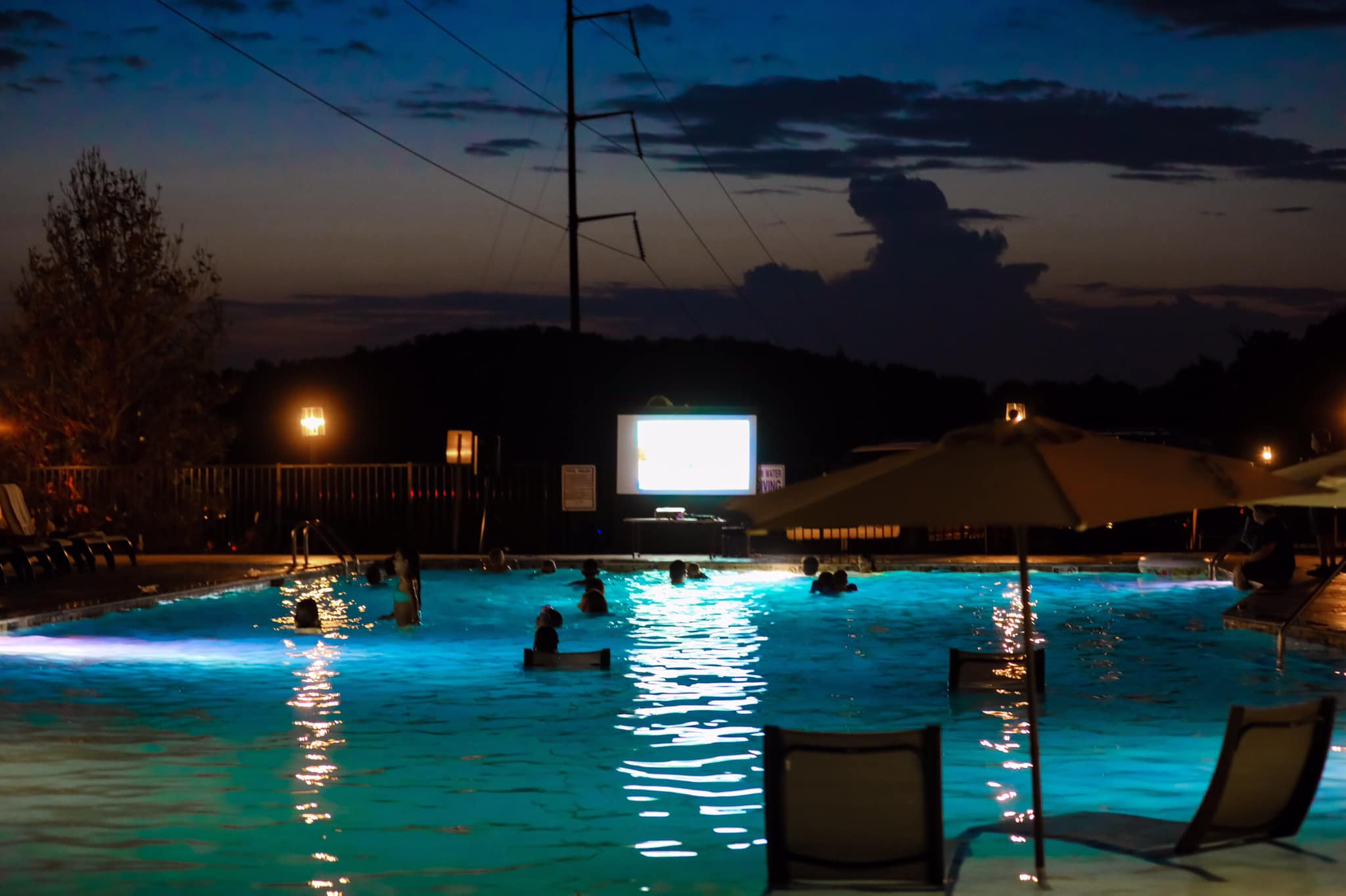 Movie Nights at The Ridge Outdoor Resort