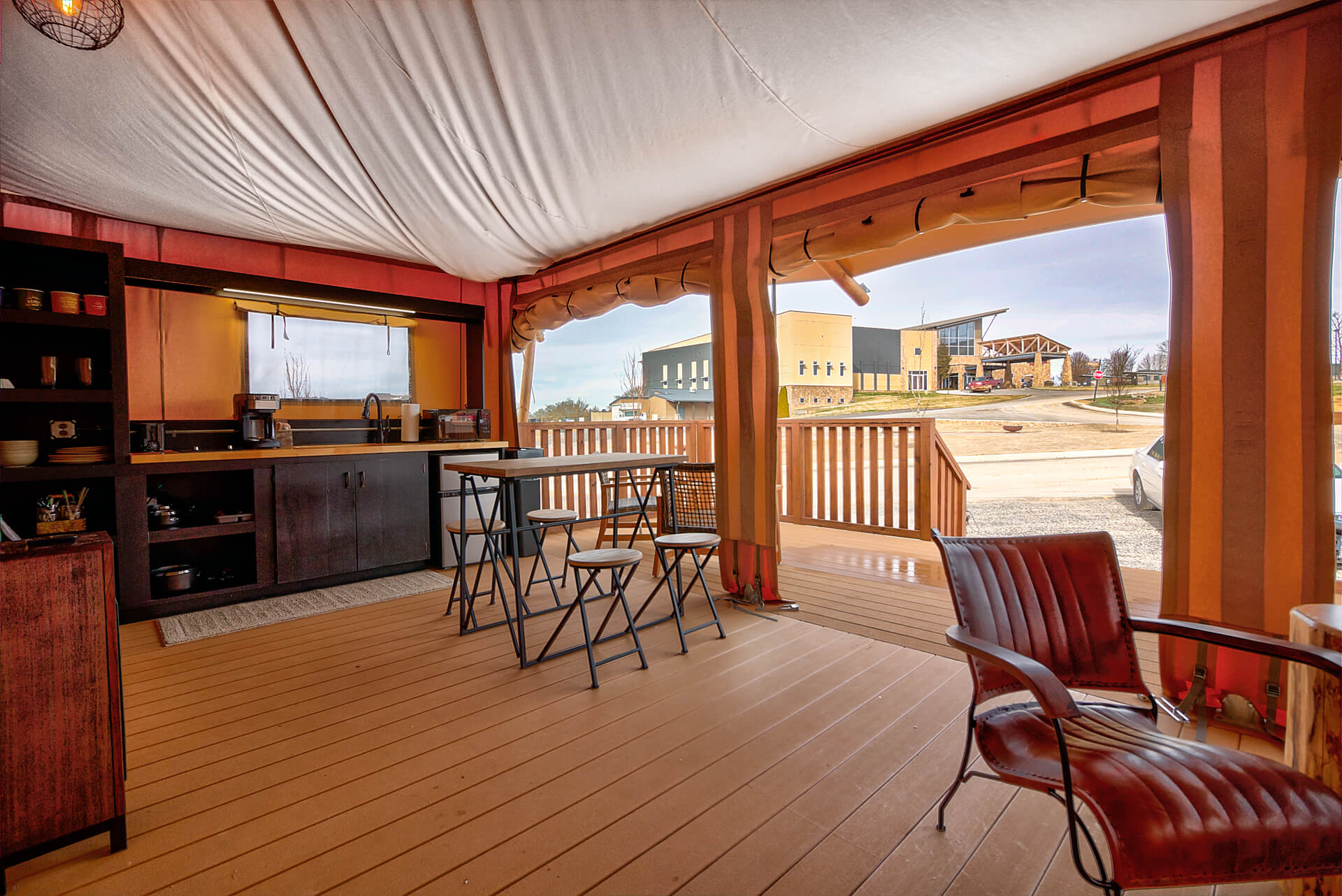 The Ridge Outdoor Resort Luxury Glamping Tent Camping