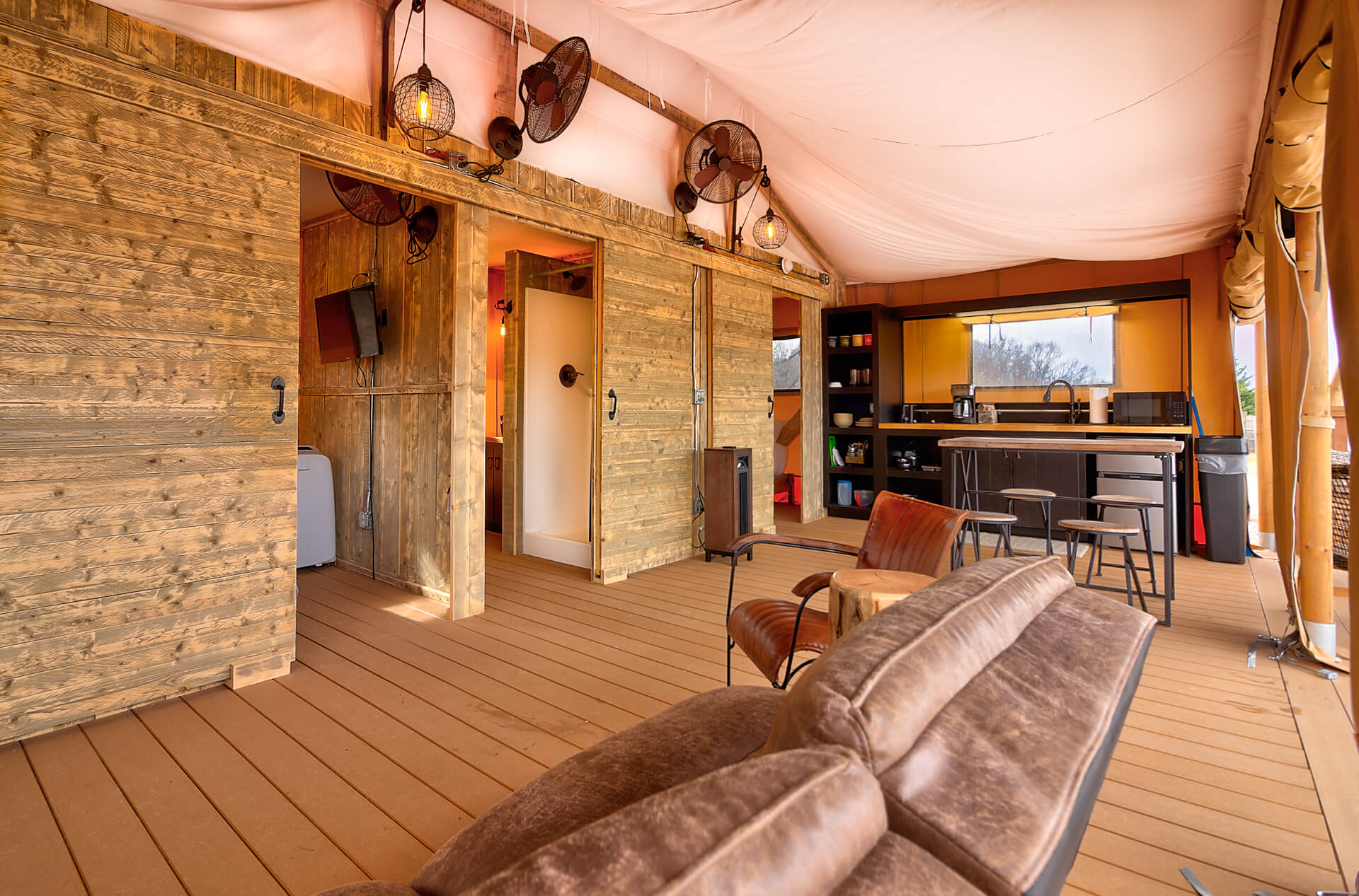 The Ridge Outdoor Resort Glamping Tents