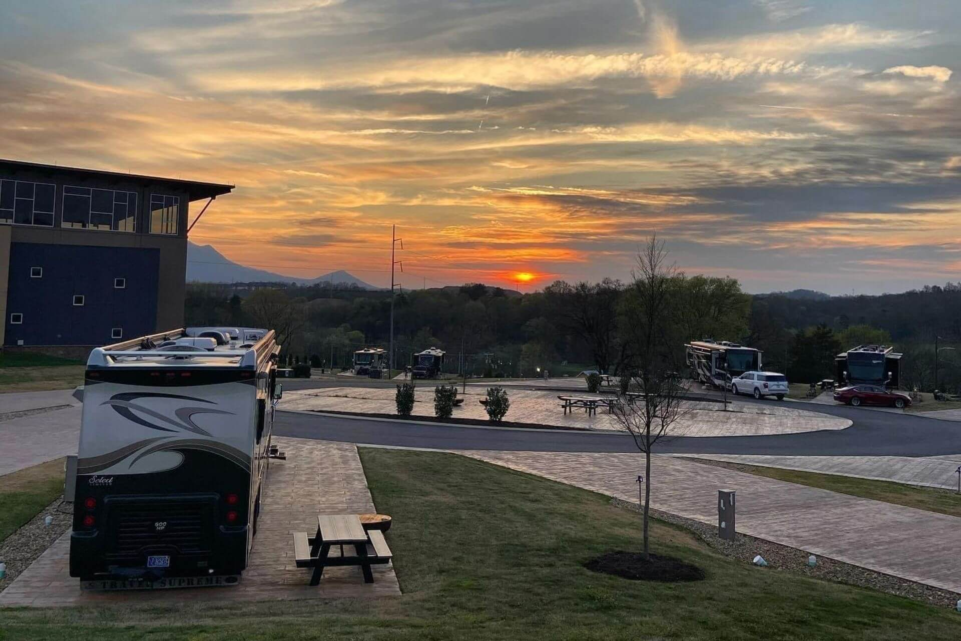 Premiere RV sites at The Ridge RV and Outdoor Resort