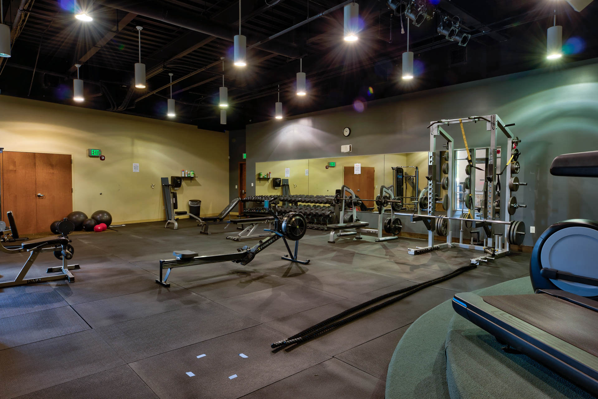 The Ridge Camping and RV Resort Gym and Fitness Room