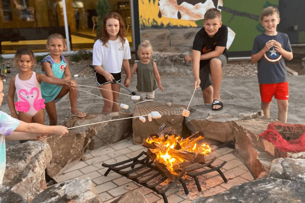Kids Camp at The Ridge Outdoor Resort Smoky Mountains