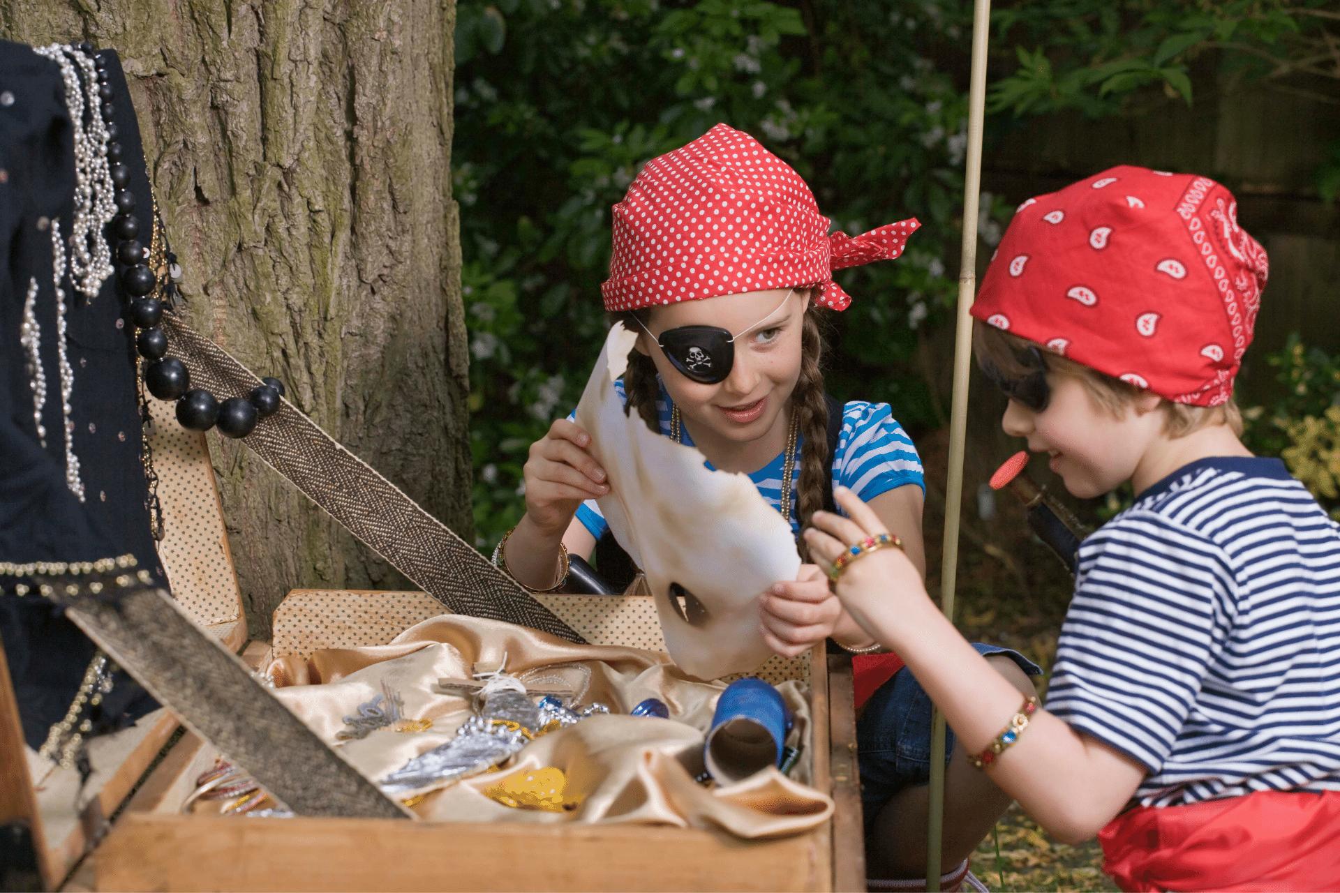 Camp Ridge Kids Pirate Day