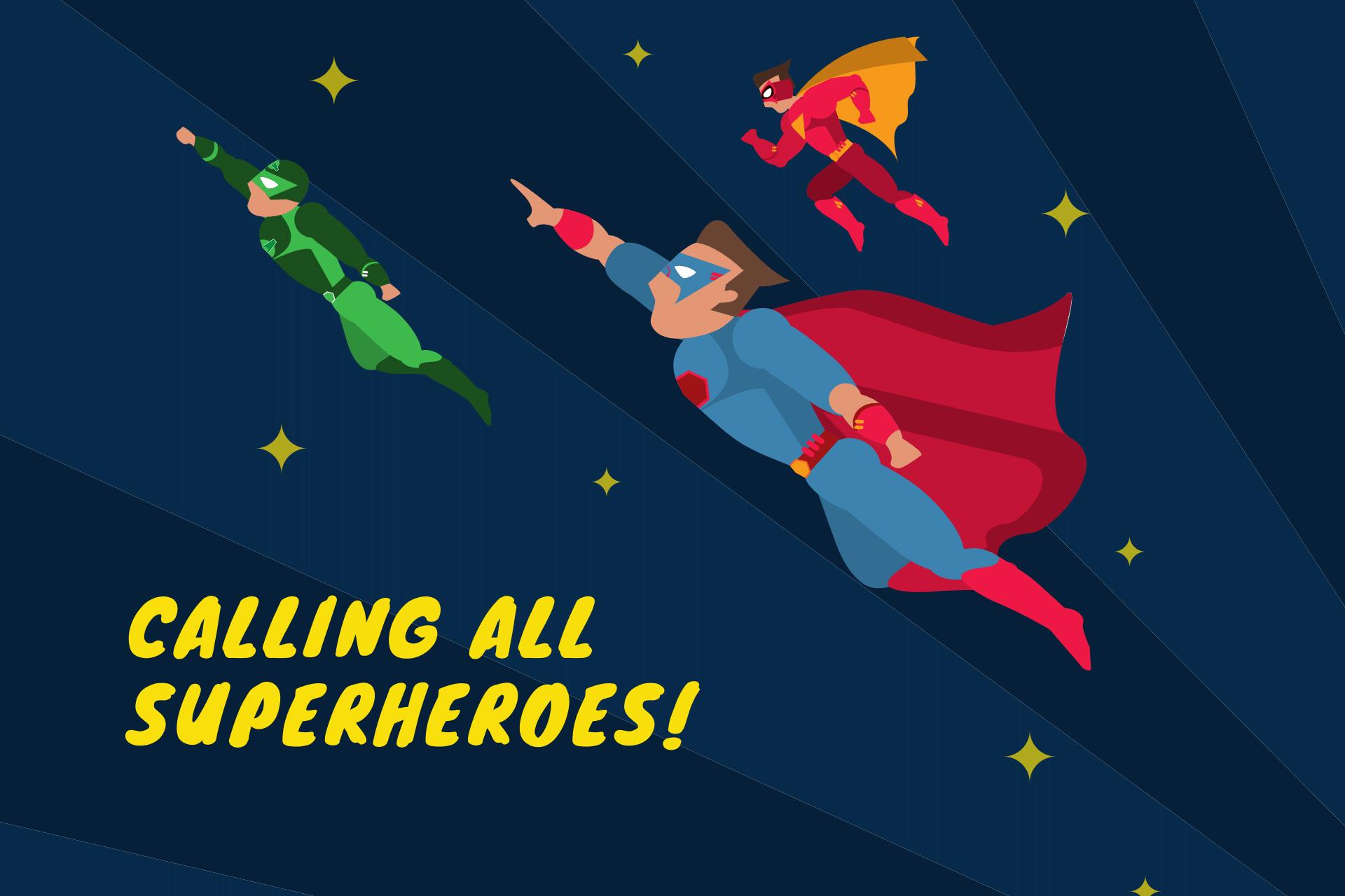 Camp Ridge Kids Super Hero Day