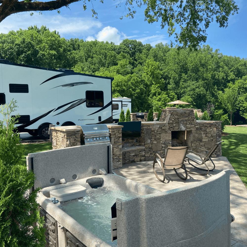 The Ridge Signature RV Sites Luxury RV Resort Sevierville Tennessee (1)