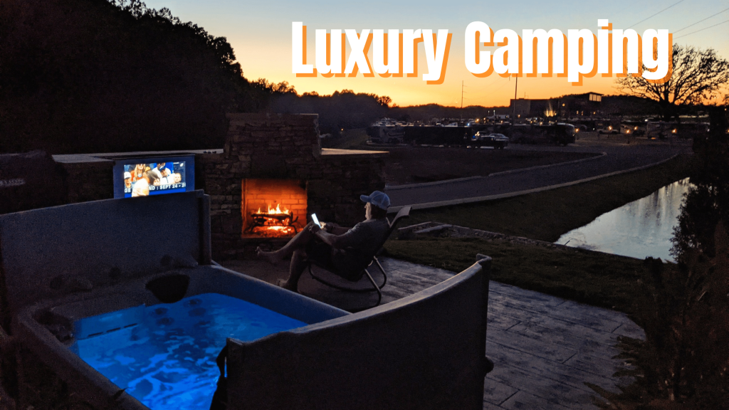 Luxury October and Fall Camping at The Ridge Outdoor Resort