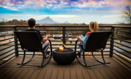 The Ridge Tiny Home Porch Home Page